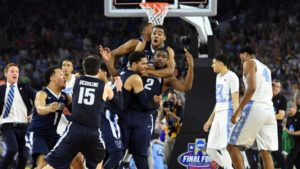 Last year's 'One Shining Moment' came courtesy of Villanova's Kris Jenkins.